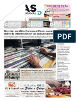 Mijas Semanal Nª833 Del 29 de marzo al 4 de abril de 2019