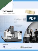 Prospekt Firmenschulung CNC-Training