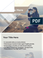 PPT template for exploration