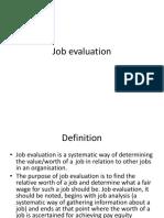 Job Evaluation  L 11.ppt
