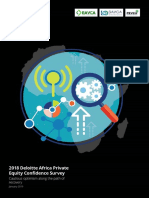 Deloitte Africa Private Equity Confidence Survey 2018