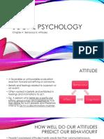 Behavior & Attitudes