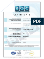 Annex g Agcc Iso 9001 Certification