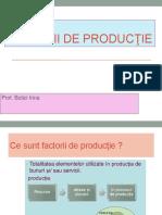 Factorii de productie