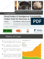 Bond Index & Hardgrove Grindability Index