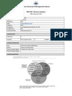 DISC 420-Business Analytics-Zainab Riaz