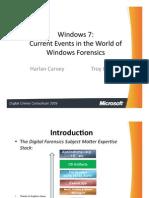 Windows 7 Foreniscs