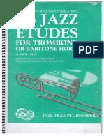 Jack Gale 24 Etudes Jazz