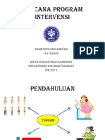 Zahrotus Sholuhiyah_I14164005_rencana intervensi klien.ppt