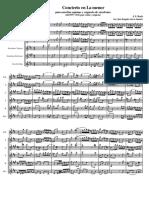 Bach Violinconc 1041 Ensemble 1 Tiempo