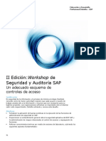 Seguridad y Auditoria SAP