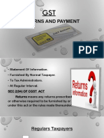GST Returns and Forms