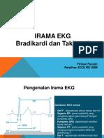 EKG Monitor Bradikardi Dan Takikardi Inhouse Training