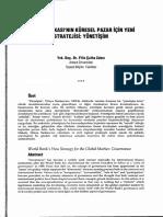 Dünya Bankası'nın Pazar İçin Yeni Stratejisi Yönetişim - Filiz Çulha Zabcı.pdf