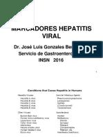 14.- Hepatitis Viral - Dr. José Gonzáles Benavides