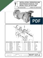 Manual Maintenance Scot Pump
