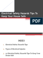 Electrical Safety Hazards Tips to Keep your House Safe