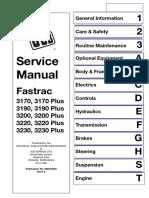 JCB 3170Plus , 3190Plus , 3200Plus , 3220Plus , 3230Plus Fastrac Service Manual