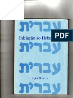 INICIAÇÃO AO HEBRAICO I 1-7