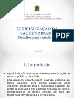 Judicializacao Da Saude No Brasil Desafios Para a Mediacao