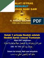 TUNTUNAN SHALAT ISYRAQ MENURUT NABI SAW.pptx