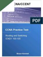 Ccna_ccent_ Icnd1 100-105 Pract - Shaun Hummel