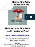 Health Comes First With Health Insurance Plans.pptx