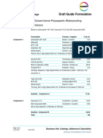 GF 2K SB Polyaspartic Waterproofing Membrane