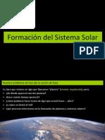 2017 Formación de Sistemas Solares