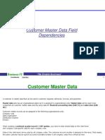 Customer Master Field Dependencies