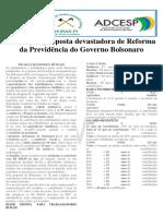 Panfleto Reforma Da Previdencia