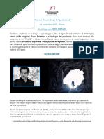 L'Essere Umano Dopo La Speciazione. 26 Settembre Roma. Workshop Con IGOR SIBALDI