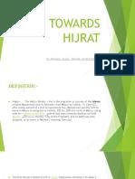 Towards Hijrat Roheela