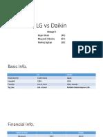 Daikin vs LG