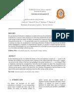 Hidrolisis Acida de Acetato de Etilo