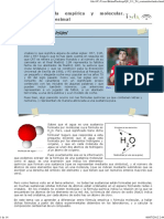 documento formula empirica