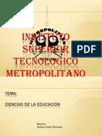 cienciasdelaeducacion-110412093706-phpapp02