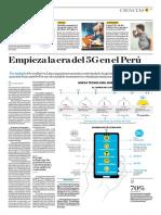 Empieza La Era Del 5 G en El Perú