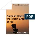 A Name in heaven, the Truest Ground of Joy - Matthew Mead.pdf