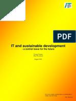 IT sustainable development