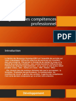 La Gestion Des Compétences Professionnel