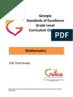 3rd Math Grade Level Overview