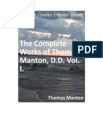 The Complete Works of Thomas Manton, D.D. Vol. 1.pdf