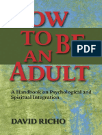 Preview of How to Be an Adult a Handbook for Psychological and Spiritual Integration