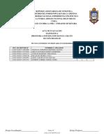 Listado de Notas de UNEFA 2018