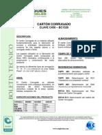 Ficha Tecnica - Carton Corrugado