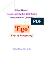 """""""Ego"""" - What is Personality?"""