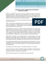 Estudio de Caso Derechos de Autor y Normatividad SST