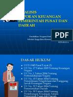 ALK Pemerintah Pusat Dan Daerah