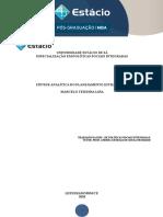 Síntese Analítica - Disciplina de Políticas Sociais Integradas